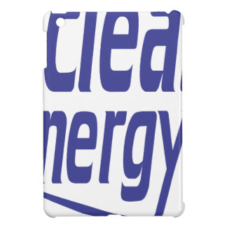Clean energy iPad mini case