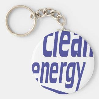 Clean energy keychain