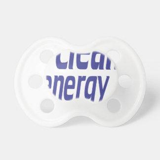 Clean energy pacifier