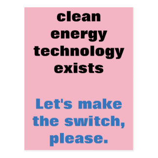 Clean Energy Postcard