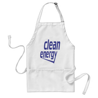 Clean energy standard apron