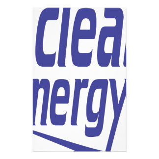 Clean energy stationery