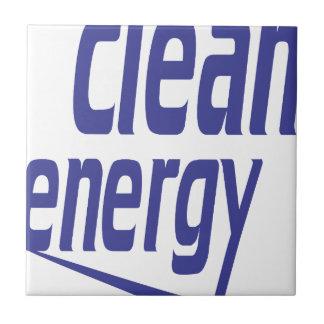 Clean energy tile