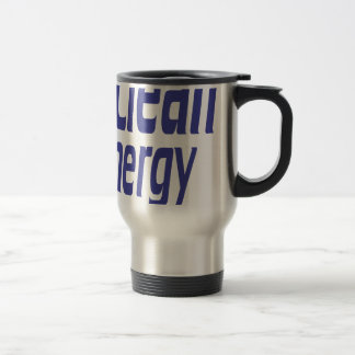Clean energy travel mug