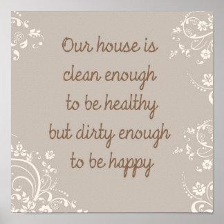 Clean Enough Poster