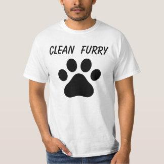 Clean Furry Pride shirt