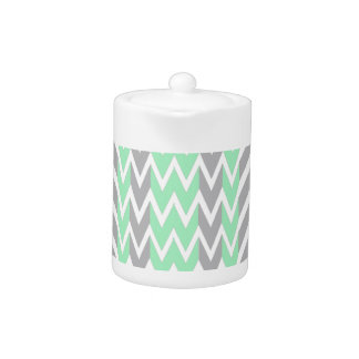 Clean Gray and Green Chevron Humps