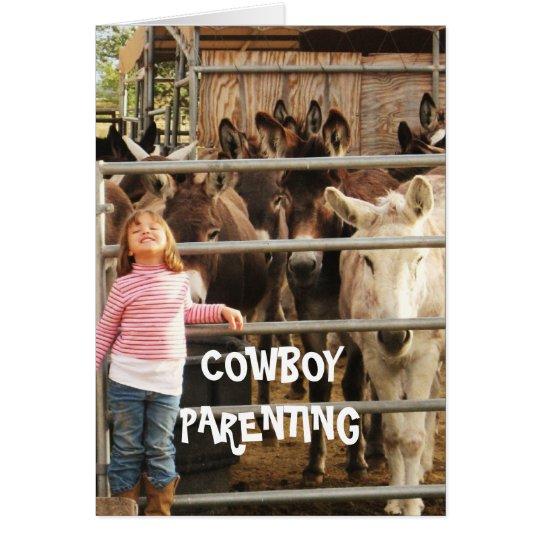 Clean House - Cowboy Parenting Card