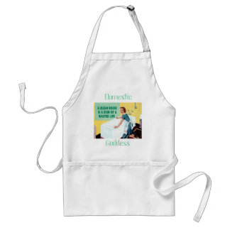 Clean house standard apron