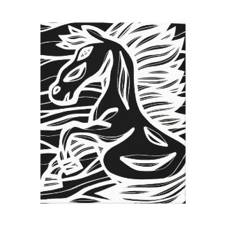 Clean Inventive Emotional Progress Canvas Print