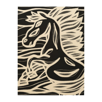 Clean Inventive Emotional Progress Wood Prints