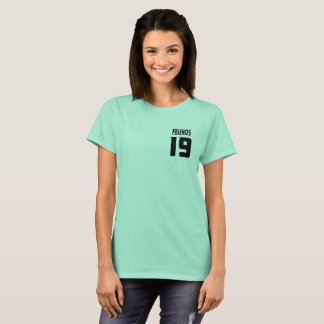 Clean mint Couple Friend 19 -gift for best friend T-Shirt