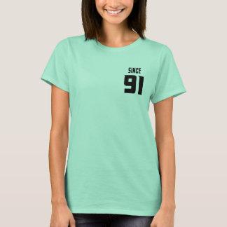Clean mint Couple Since 91 -gift for best friend T-Shirt
