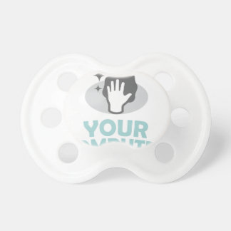 Clean Out Your Computer Day  - Appreciation Day Pacifier