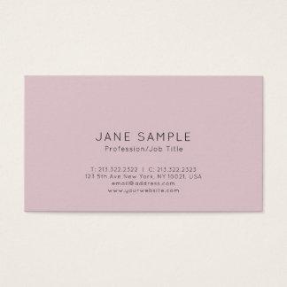 Clean Professional Modern Elegant Design Business Card