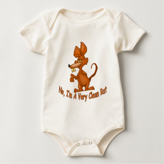 Clean Rat Baby Bodysuit