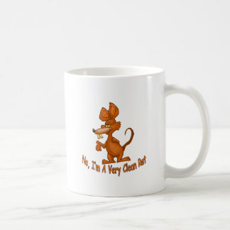 Clean Rat Coffee Mug