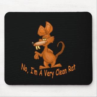 Clean Rat Mouse Pad
