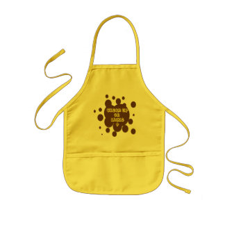 Clean up on aisle 4 kids apron