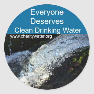 Clean Water stickers