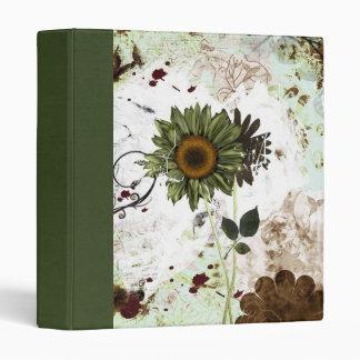 clean world binder/ scrapbook vinyl binder