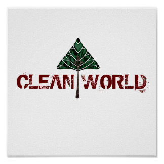 CLEAN WORLD POSTER
