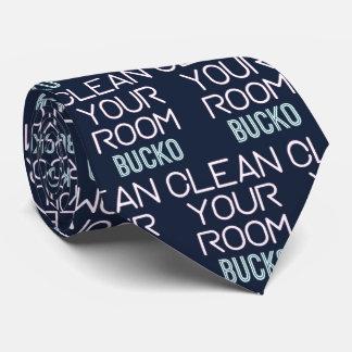 Clean Your Room Bucko Tie