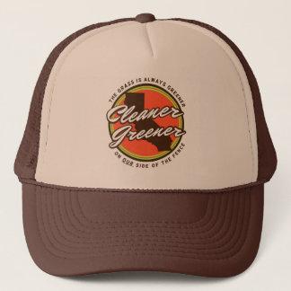Cleaner Greener Cali trucker hat