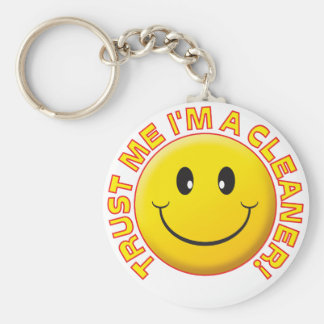 Cleaner Trust Me Keychain