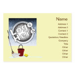 Cleaning - Chubby Large Business Cards (Pack Of 100)