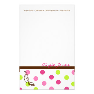 Cleaning Service Stationary Stationery