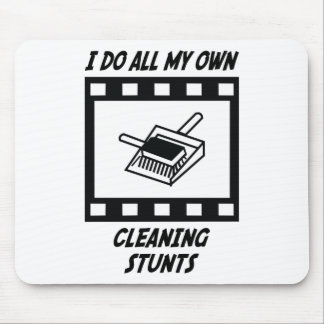 Cleaning Stunts Mouse Mat