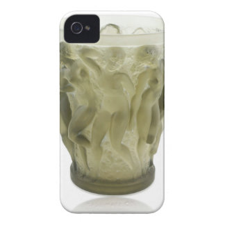 Clear Art Deco glass vase with female dancers. iPhone 4 Cover