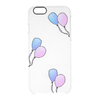 Clear Balloons Phone Case