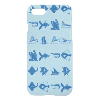 Clear blue ocean iPhone 7 case