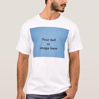 Clear blue sky photo template T-Shirt