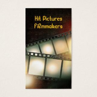Clear Cels Filmmaker Videographer Vertical Card