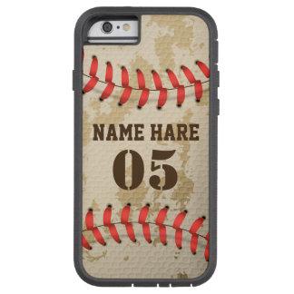 Clear Cool Vintage Baseball Tough Phone Case