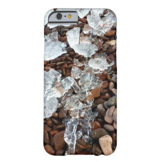 Clear Ice on Pebble Beach Phone Cover