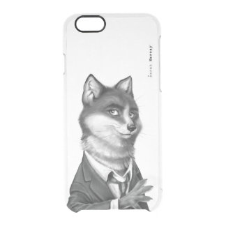 Clear iPhone 6/6s Case - Fox