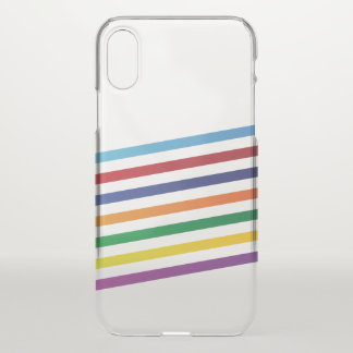 Clear iPhone X case