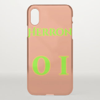 Clear Iphonex case - Zach