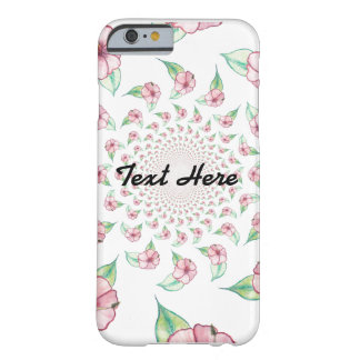 Clear Kaleidoscope Floral Case
