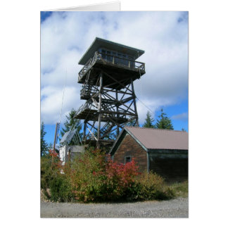 Clear Lake Butte Fire Lookout Card