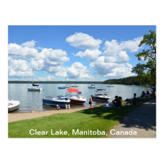 Clear Lake, National Park, Manitoba, Canada Postcard