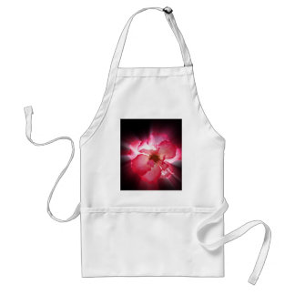 clear red petals standard apron