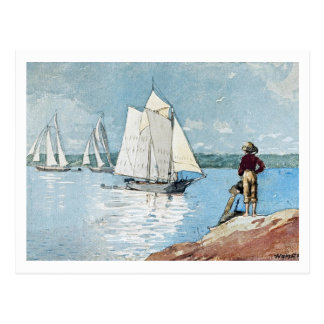 Clear Sailing by Winslow Homer Postcard