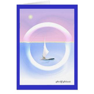 Clear Sailing Card