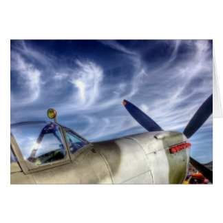 Clear skies card