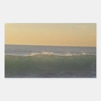 clear summer wave sticker